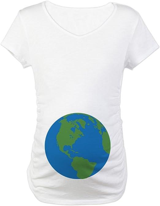 CafePress Funny Halloween Maternity T-Shirt Maternity Tee