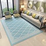 GIY Geometric Living Room Area Rugs 3D Rug Rectangular Carpets Children Bedroom Mats Outdoor Indoor Home Decor Runners 4' X 5'