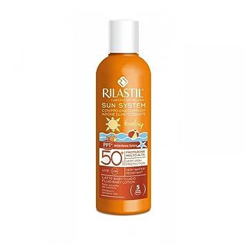 Amazon com: Rilastil Sun System Baby PPT Fluid Milk SPF50 + 200ml