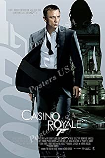 James bond 007 casino royale poster david green and gambling
