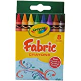 Crayola Fabric Crayons 8 Count - 2 Packs