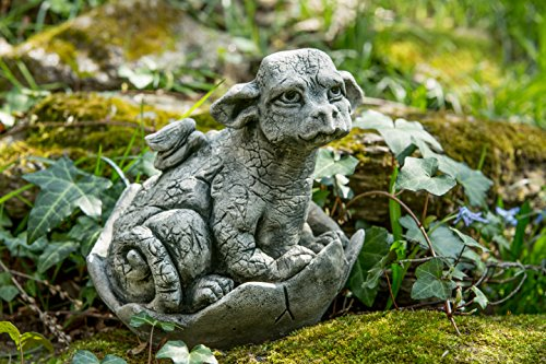 Campania International S-425-AS Whimper Statue, Alpine Stone - State Gaden