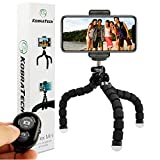 KobraTech Cell Phone Tripod Stand - Flexible Tripod for iPhone or Android - TriFlex Mini iPhone Tripod