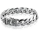 VY Jewelry High Class 925 Sterling Silver Bracelet - Made in Thailand - 10.25