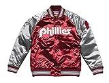 Mitchell & Ness Philadelphia Phillies MLB Tough Season Premium Satin Jacket