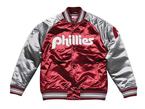 - Mitchell & Ness Philadelphia Phillies MLB Tough Season Premium Satin Jacket