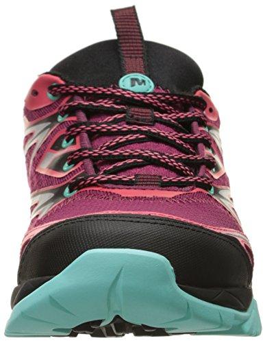 Merrell Bright Capra Hiking Bolt Red Women's YrUnpFY