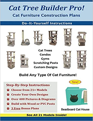 Stupendous Cat Tree Builder Pro Cat Furniture Construction Plans Cat Download Free Architecture Designs Rallybritishbridgeorg