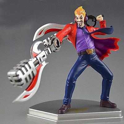 Shalleen League of Legends LOL Primetime Draven PVC Action Figure Toys 3D Statue (Eric Draven Costume)