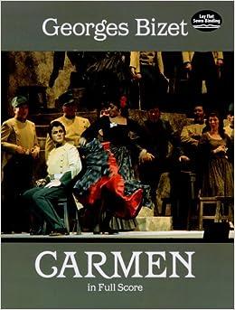 ビゼー: オペラ 「カルメン」/ドーヴァー社/大型全曲版スコア