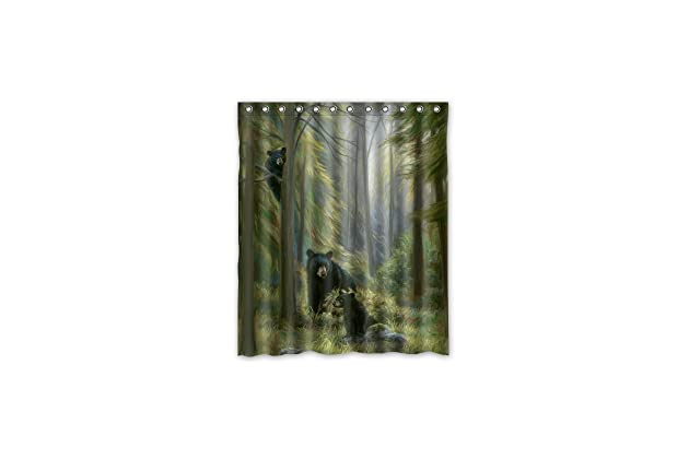 60x72 Inches Shower Curtain