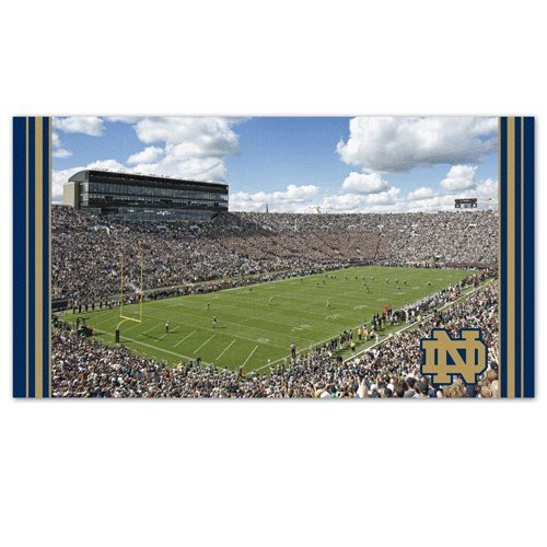 NCAA 2930113 Notre Dame Mat, Large/28'' X 52'' by WinCraft