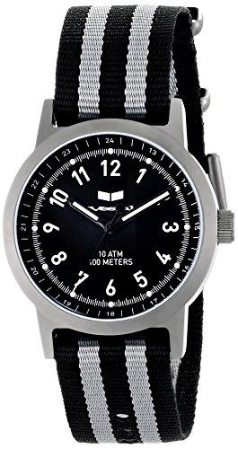 Vestal Men's ABZ3C02 Alpha Bravo Zulu Analog Display Japanese Quartz Grey Watch