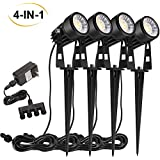 OSORD Solar Lights Outdoor, Waterproof 18 LED...