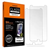 Moto Z Droid Screen Protector, Spigen® [2 Pack] [Tempered Glass] for Moto Z / Moto Z Droid
