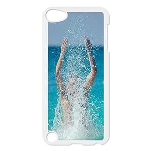 iPod Touch 5 Case White hg15 sea man splash water summer ocean H5M3QS
