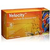 Aurelia Velocity Powder Free Latex Exam Gloves-Large-1000/Case