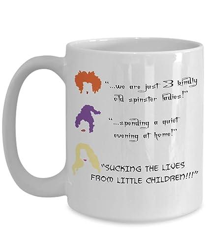 Amazon.com Halloween mug, Hocus Pocus, Sanderson sisters