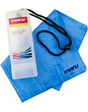 Maru A0861 - Toalla de natación, talla única, color azul