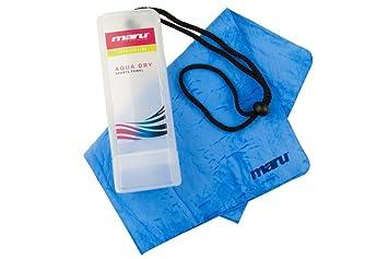Maru A0861 - Toalla de natación, talla única, color azul: Amazon.es: Deportes y aire libre