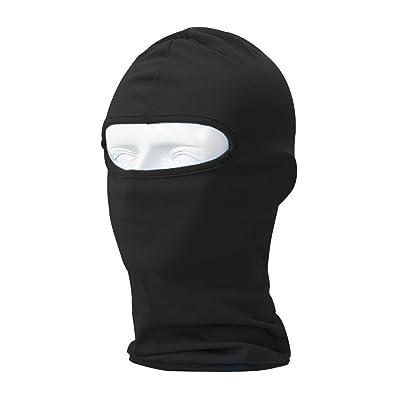 Your Choice Balaclava Thin UV Protective Sports Ski Face Mask (Black): Automotive