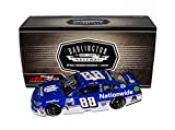 3X AUTOGRAPHED 2017 Dale Earnhardt Jr. / Greg Ives / Rick Hendrick #88 Nationwide DARLINGTON THROWBACK Final Season Signed Lionel 1/24 NASCAR Diecast Car with COA (#0127 of only 2,533 produced!)