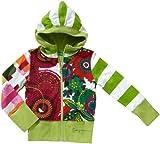 Desigual Little Girls' Zip-Up Sweatshirt