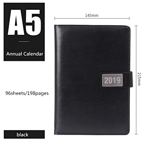 BJBCH Cuaderno Calendario Anual Calendario Bullet Journal ...