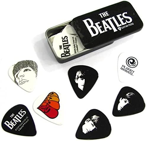 x1 Logo Planet Waves Beatles Signature Guitar Pick Tins 019954961213 Medium 1CAB4-15BT1 w//Bonus RIS Pick