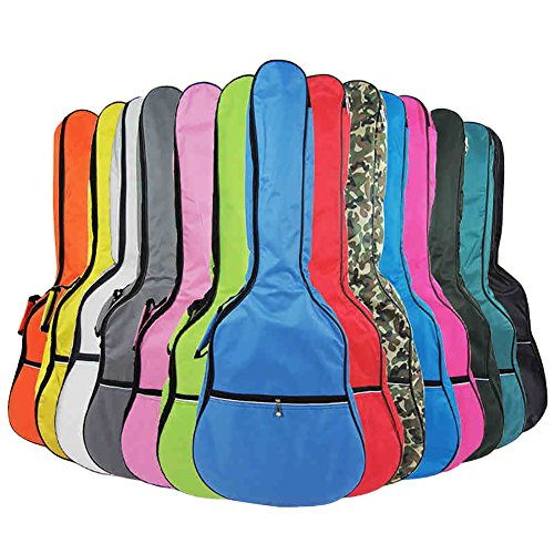 HOT SEAL 5MM Waterproof Durable Colorful Conventional Guitar Case Bag with Storage (40in, -