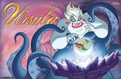 """Trends International Disney Villains Ursula Wall Poster 22.375"""" x 34"""""""