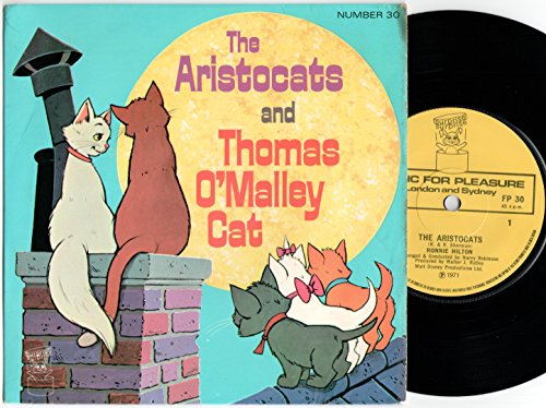 """Price comparison product image Ronnie Hilton - The Aristocats And Thomas O'Malley Cat - 7"""" Single 1971 - Surprise Surprise FP 30"""