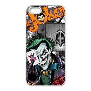 Amusing joker Cell Phone Case for iPhone 5S by Maris's Diary