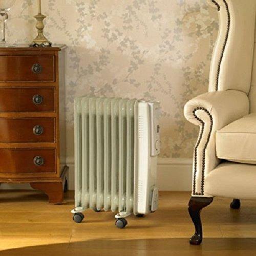 Elitezotec © New Electric 2000W Oil Filled Radiator Heater Winter Warm Setting Portable Heat EliteZotec®