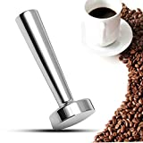 Vivona Hardware & Accessories Stainless Steel 24mm Coffee Tamper Flat Base for Nespresso Machine Coffee Capsule Cup Pod