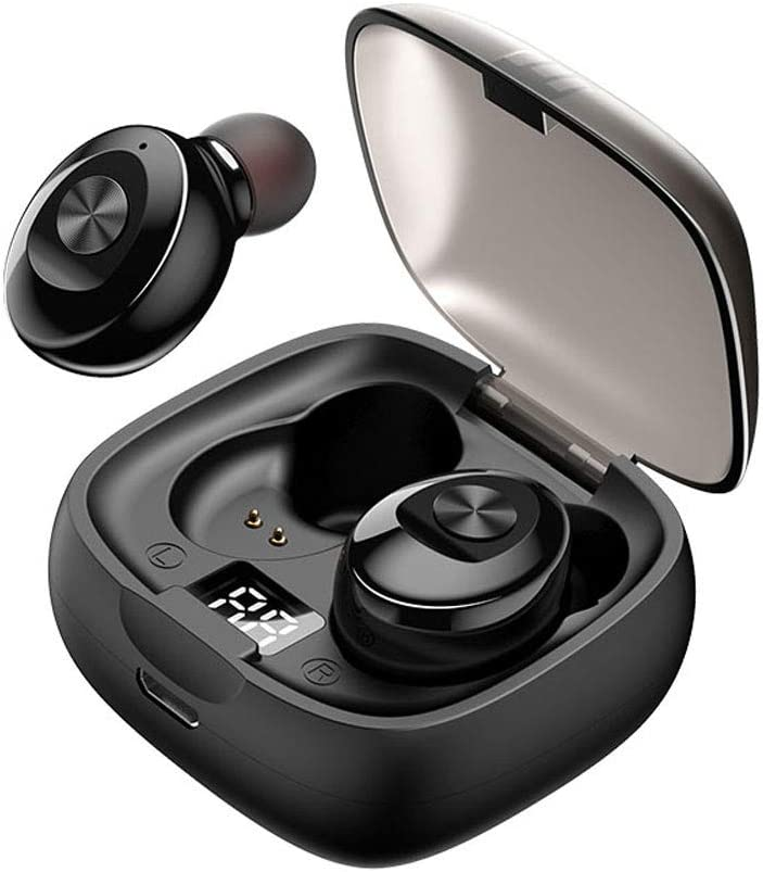XG-8 Bluetooth 5.0 Headset Wireless Earbuds with Wireless Charging Case IPX5 Waterproof Stereo Headphones Touch Control in Ear Premium Sound with Deep Bass for Sport