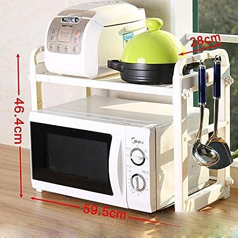 Kitchen shelf Rack de microondas para Cocina/Estante de ...