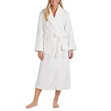 812a3fcd45 Image Unavailable. Image not available for. Colour  Carole Hochman Women s  Plush Robe ...