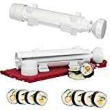 Sushi Roller DIY Maker Kit Machine. Sushi Bazooka Roll tool for the Best All in 1 Sushi Making