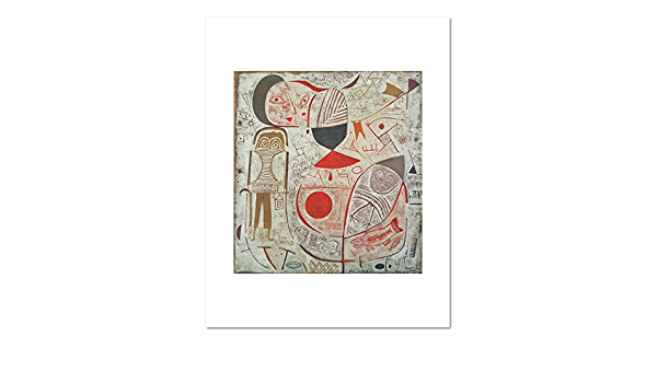 Amazon Com 1000museums Printed Sheet With Picture By Paul Klee 1937 Art Print Posters Prints