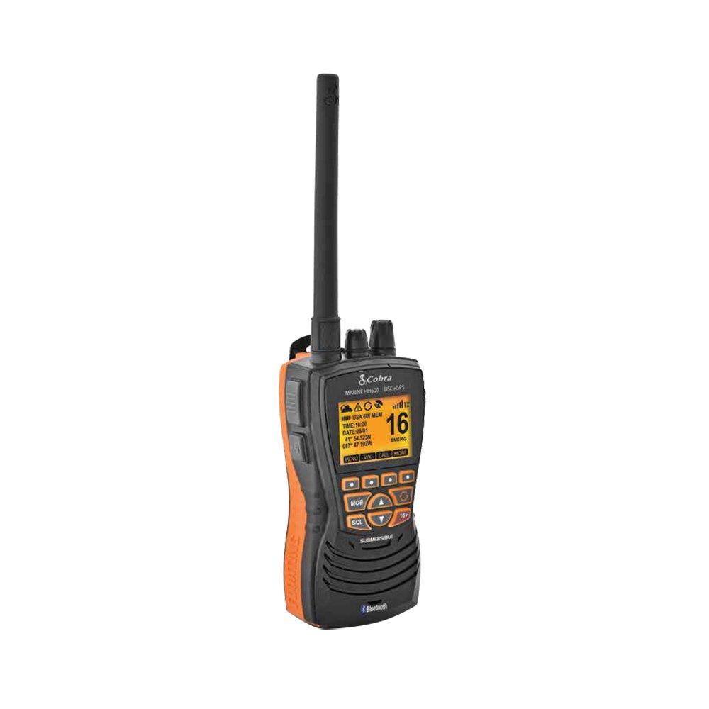 Cobra Electronics Corporation MRHH600FLTGPSBT VHF Radio W/Bluetooth Floating by Cobra Electronics