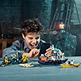 LEGO Hidden Side Wrecked Shrimp Boat 70419 Building Kit, App Toy for 7+ Year Old Boys and Girls, Interactive Augmented Reality Playset