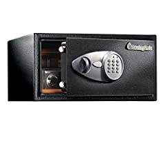 The SentrySafe X105 Security Safe with Digital Keypad offers maximum security for your precious valuables and electronics with solid steel construction, bolt down hardware, and a digital lock with key. The X105 also includes a removable shelf...