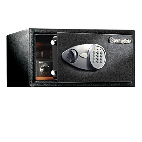 SentrySafe X105 Security Safe with with Digital Keypad, 0.9 Cubic Feet (Large) ()