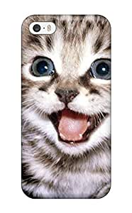 Boast Diy 5/5s Scratch-proof protective case cover For Iphone/ Hot Selling Happy Cat cell phone case A8icZfasADX cover