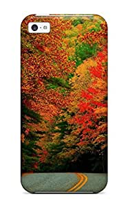 Top Quality Rugged Autumn Case Cover For Iphone 5c 5434100K70423485