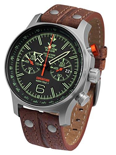 Vostok-Europe 6S21/595H299 Expedition North Pole 1 Titanium Watch