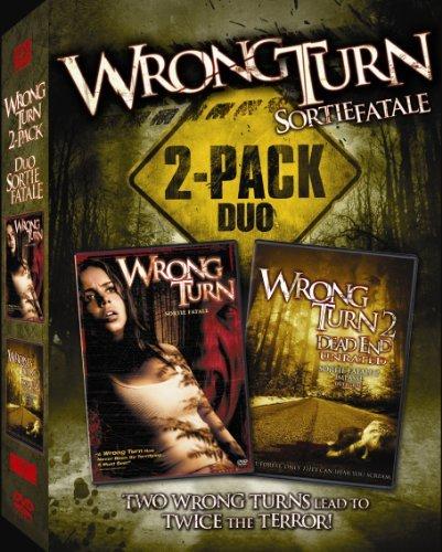 Wrong Turn 1 & 2 Box Set Cb Sm (Set Turn Dvd Wrong)