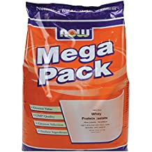 Now Foods Whey Protein Isolate Unflavored - 10 lbs. 5 Pack