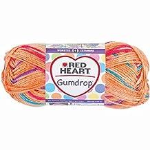 Coats Yarn Red Heart Gumdrop Yarn, Orange by Coats & Clark Inc.